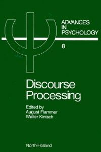 Ebook in inglese Discourse Processing