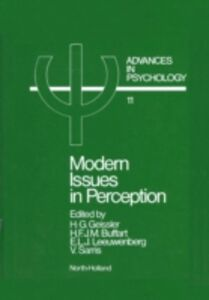 Ebook in inglese Modern Issues in Perception