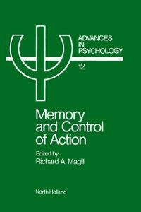 Ebook in inglese Memory and control of action -, -