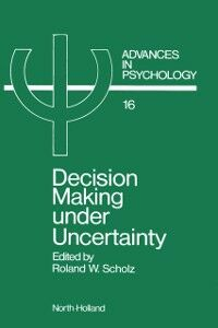 Ebook in inglese Decision Making under Uncertainty