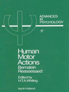 Foto Cover di Human Motor Actions, Ebook inglese di H.T.A. Whiting, edito da Elsevier Science