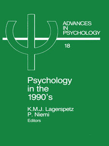 Ebook in inglese Psychology in the 1990's
