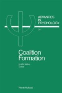 Foto Cover di Coalition Formation, Ebook inglese di  edito da Elsevier Science