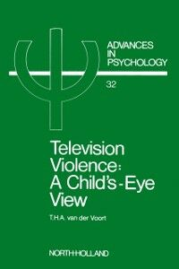 Ebook in inglese TELEVISION VIOLENCE -, -