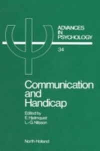 Ebook in inglese Communication and Handicap -, -