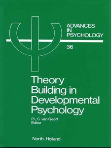 Foto Cover di Theory Building in Developmental Psychology, Ebook inglese di P. van Geert, edito da Elsevier Science