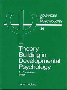 Ebook in inglese Theory Building in Developmental Psychology -, -