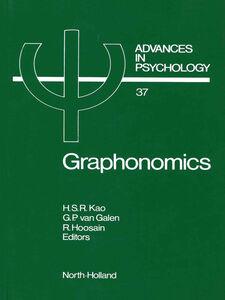 Foto Cover di Graphonomics, Ebook inglese di AA.VV edito da Elsevier Science