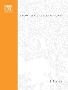 Foto Cover di Knowledge and Language, Ebook inglese di AA.VV edito da Elsevier Science