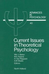 Foto Cover di Current Issues in Theoretical Psychology, Ebook inglese di  edito da Elsevier Science