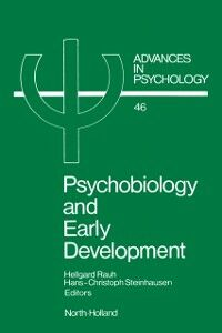 Ebook in inglese Psychobiology and Early Development -, -