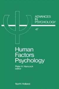 Ebook in inglese Human Factors Psychology -, -