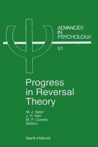 Ebook in inglese Progress in Reversal Theory -, -