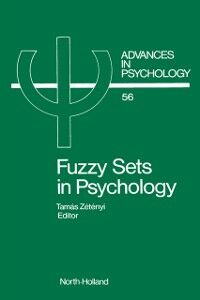 Ebook in inglese Fuzzy Sets in Psychology