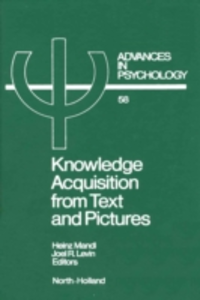 Ebook in inglese Knowledge Acquisition from Text and Pictures -, -