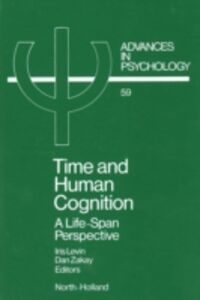 Ebook in inglese Time and Human Cognition -, -