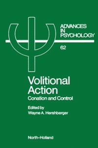 Ebook in inglese Volitional Action -, -