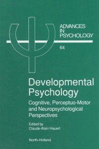 Foto Cover di Developmental Psychology, Ebook inglese di  edito da Elsevier Science