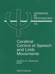 Ebook in inglese Cerebral Control of Speech and Limb Movements