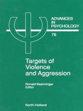 Targets of Violence and Aggression