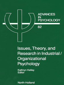 Ebook in inglese Issues, Theory, and Research in Industrial/Organizational Psychology -, -
