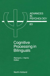 Ebook in inglese Cognitive Processing in Bilinguals -, -