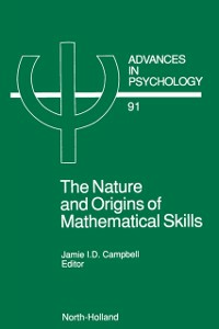Ebook in inglese Nature and Origin of Mathematical Skills -, -