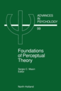 Ebook in inglese Foundations of Perceptual Theory -, -