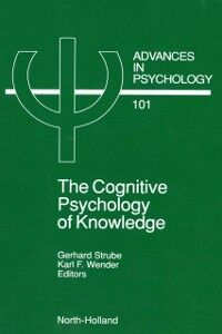 Ebook in inglese Cognitive Psychology of Knowledge -, -