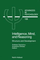 Intelligence, Mind, and Reasoning