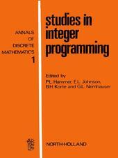Studies in integer programming