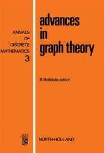 Ebook in inglese Advances in graph theory -, -