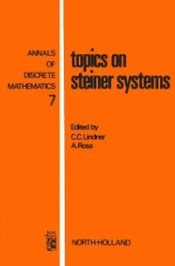 Ebook in inglese Topics on Steiner systems -, -