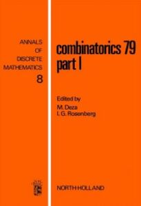 Foto Cover di Combinatorics 79. Part I, Ebook inglese di  edito da Elsevier Science