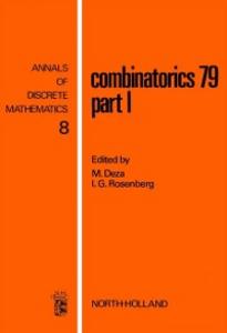 Ebook in inglese Combinatorics 79. Part I -, -