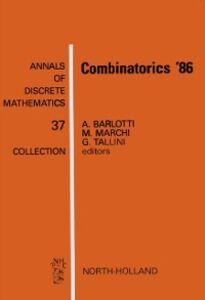 Ebook in inglese Combinatorics '86