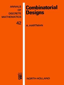Ebook in inglese Combinatorial Designs -, -