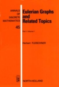 Foto Cover di Eulerian Graphs and Related Topics, Ebook inglese di Author Unknown, edito da Elsevier Science