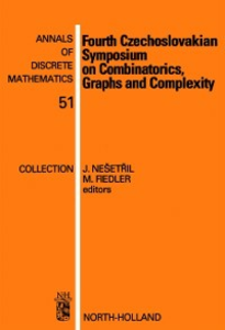 Ebook in inglese Fourth Czechoslovakian Symposium on Combinatorics, Graphs and Complexity -, -