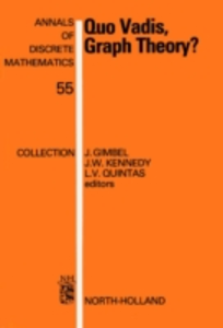 Ebook in inglese Quo Vadis, Graph Theory? -, -