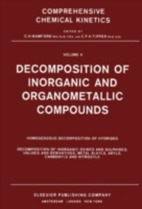 Ebook in inglese Decomposition of Inorganic and Organometallic Compounds