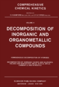 Ebook in inglese Decomposition of Inorganic and Organometallic Compounds -, -