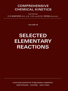 Ebook in inglese Selected Elementary Reactions -, -