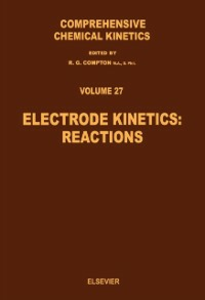 Ebook in inglese Electrode Kinetics: Reactions -, -