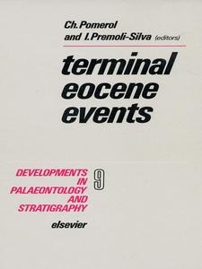 Ebook in inglese Terminal Eocene Events -, -
