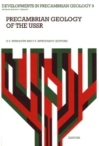 Foto Cover di Precambrian Geology of the USSR, Ebook inglese di  edito da Elsevier Science