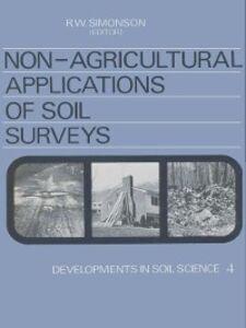 Foto Cover di NON-AGRICULTURAL APPLICATIONS OF SOIL SURVEYS, Ebook inglese di Herbert A. Simon, edito da Elsevier Science