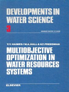 Foto Cover di Multiobjective optimization in water resources systems, Ebook inglese di  edito da Elsevier Science