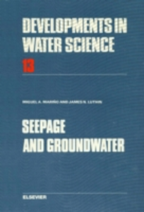 Ebook in inglese Seepage and Groundwater Luthin, J.N. , Marino, M.A.