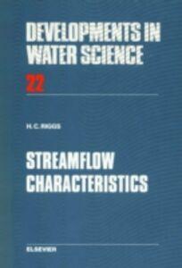 Ebook in inglese Streamflow Characteristics Riggs, H.C.
